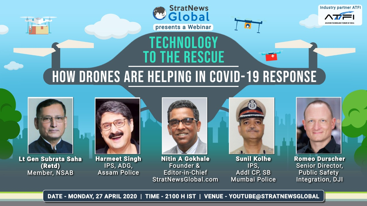 'Technology to the rescue: How drones are helping in Covid-19 response' Webinar
